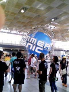 SUMMER SONIC09☆初日画像