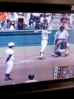 全国高校野球大会はじまる。