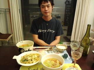 よるごはん2011/11/11