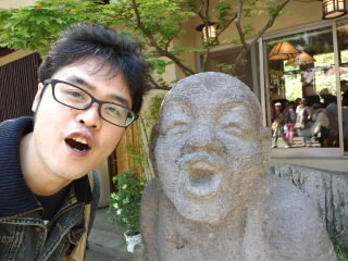 深大寺でお護摩