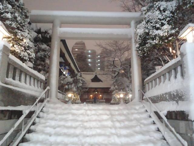 大雪来たる!